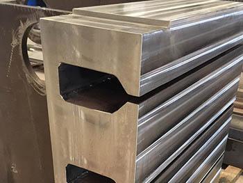 Mecanizado de mesa para fabricante de prensa hidráulica (2)