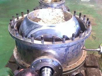 Desmontaje en taller de válvula de 30