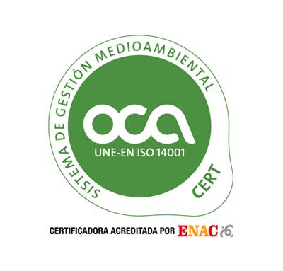 Certificación OCA 14001