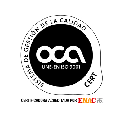 Certificado OCA 9001